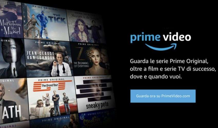 Amazon Prime Video: TV in diretta ed extra