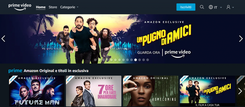 Netflix vs. Amazon Prime Video: Esperienza utente, audio e video
